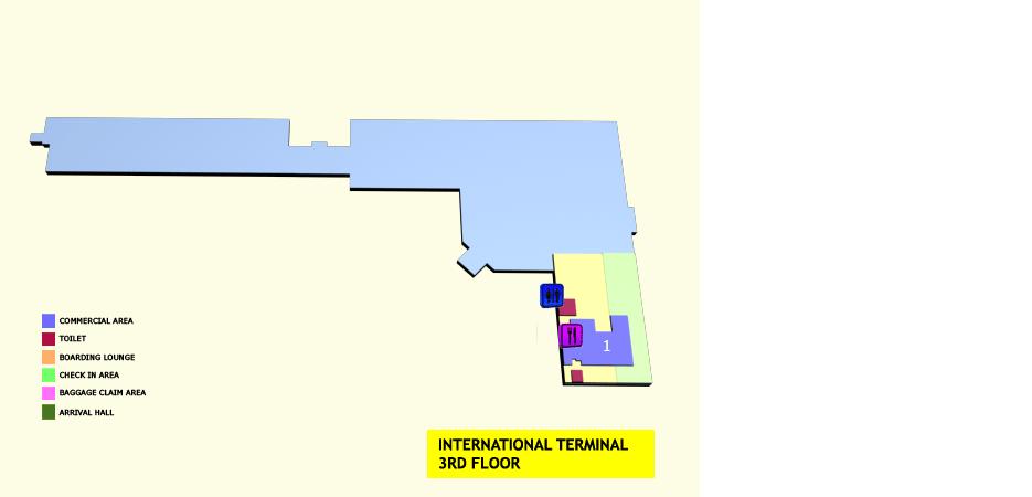 Международный  терминал уровень 3