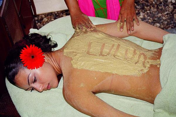 Фото яванского массажа на Бали
