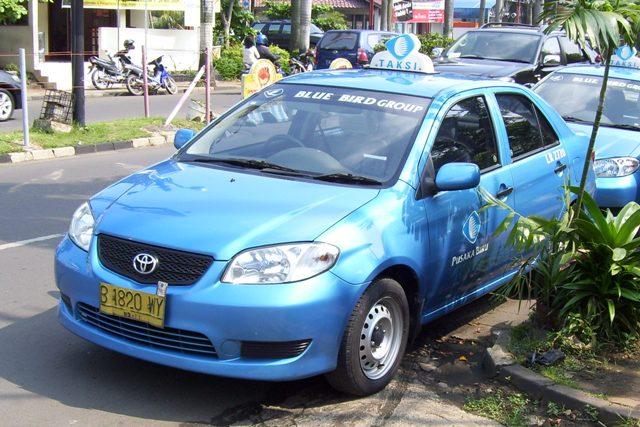Такси Блю Бирд на Бали